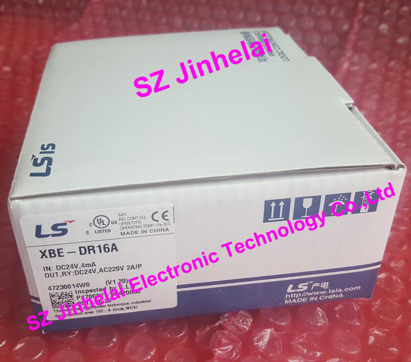 New and original XBE-DR16A  LS(LG) PLC controller 100% new and original g6i d22a ls lg plc input module