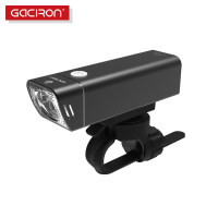 Gaciron 600 Lumens USB Rechargeable Aluminum Alloy Bike Bicycle Headlight Wire Control IPX6 Waterproof Bike Flashlight