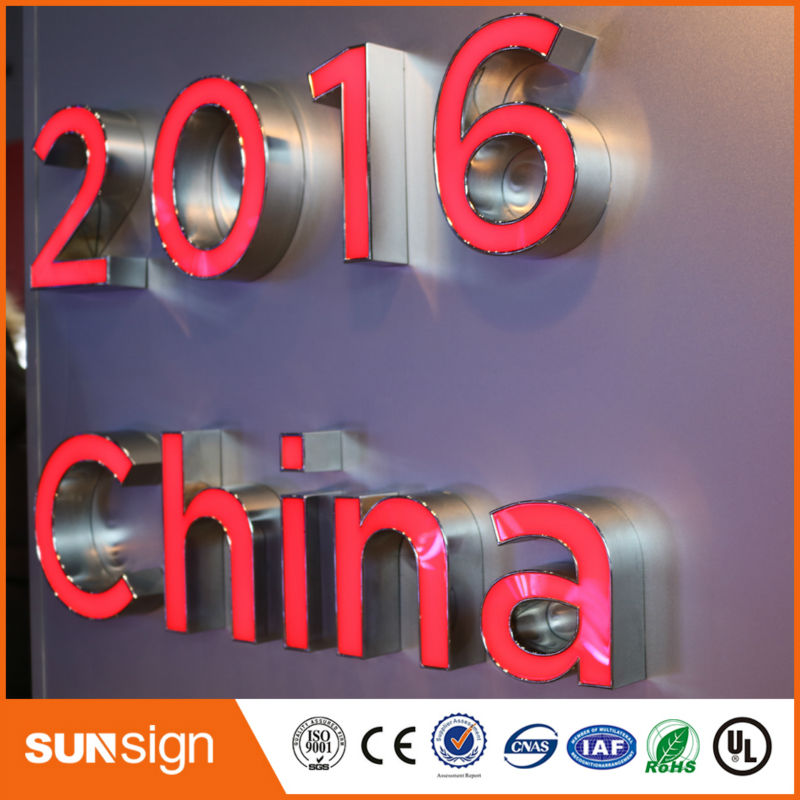 custom sign letters China manufacturer provide LED channel letters signcustom sign letters China manufacturer provide LED channel letters sign