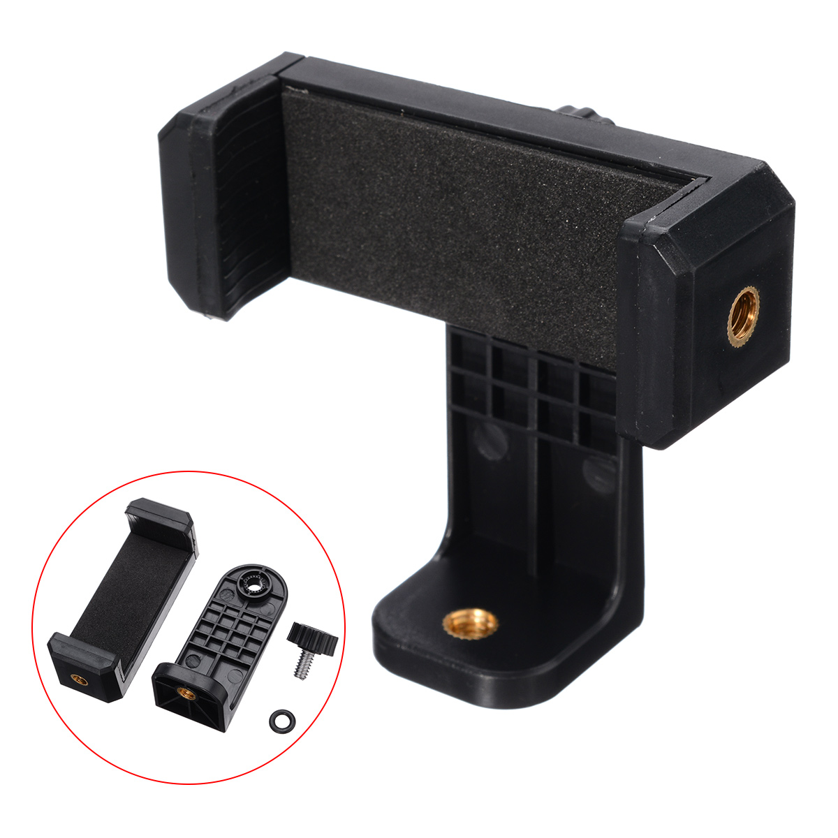 Universal Cell Phone Holder Stand Smartphone Tripod Mount Adapter Stand Clip Holder For Iphone 7 8 6 6s Plus X XR XS Max