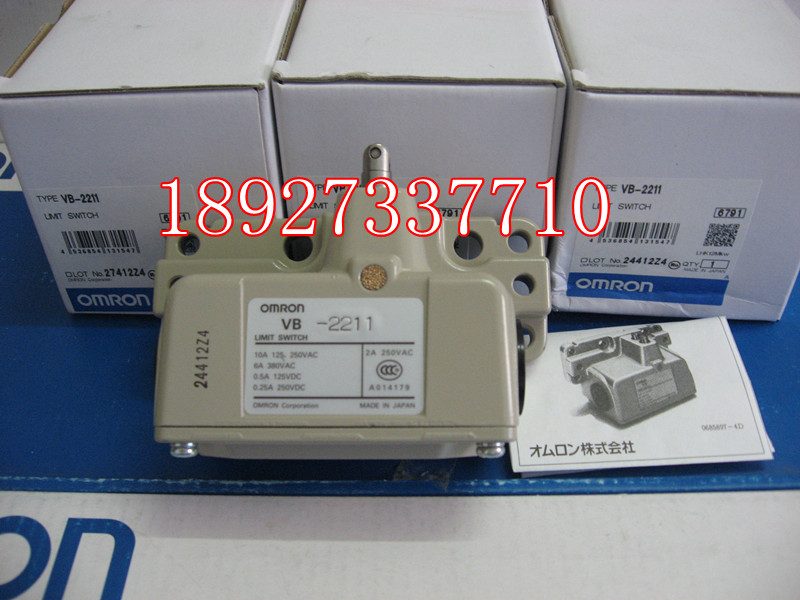 [ZOB] Supply of new original Omron omron limit switch VB-2211 factory outlets [zob] supply of new original omron omron limit switch ze q22 2 factory outlets 2pcs lot