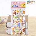 1 sheet Animal Estate kawaii PVC stickers album diary Notebook DIY paper decorative sticky sticker for children chrismas gift