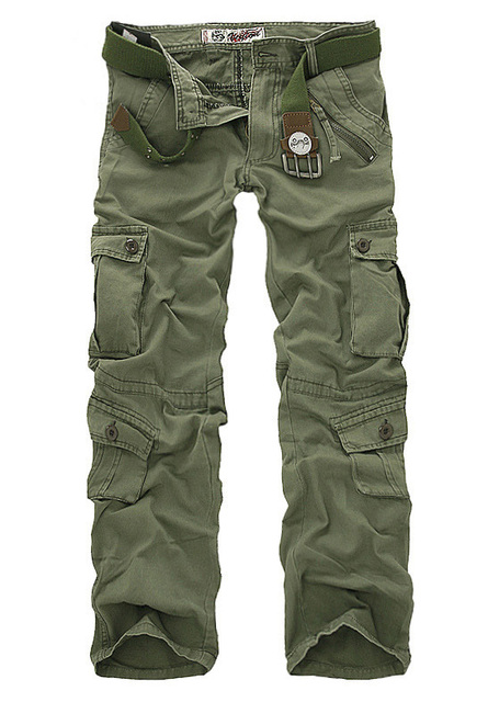 Jadea los guardapolvos de lavado de alta calidad de los hombres ocasionales de los hombres pantalones Cargo pantalones vaqueros de diseño de 5 colores tamaño 28-40