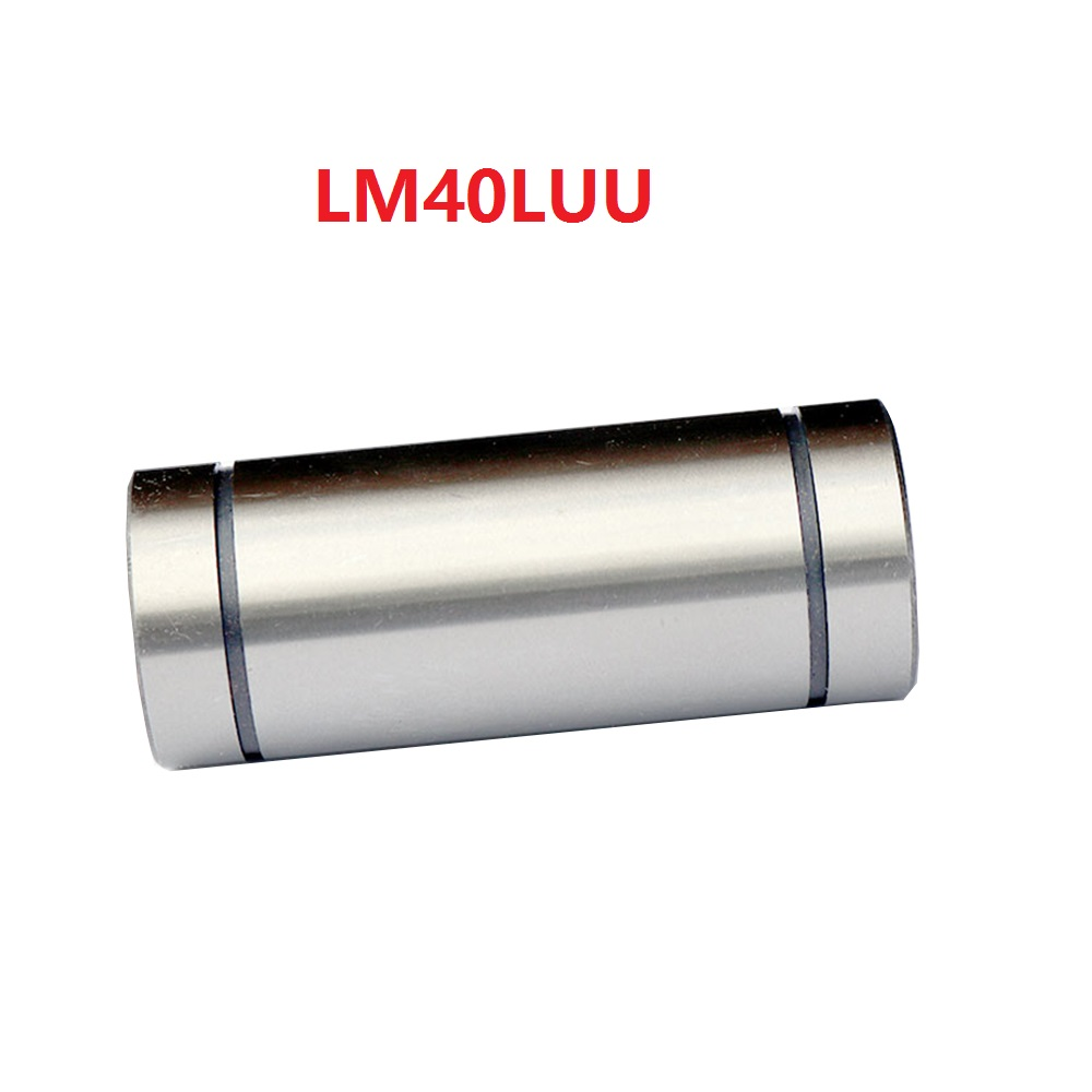 1pcs/lot LM40LUU 40mm Long type Linear bearing linear bushing CNC Bearing for linear shaft1pcs/lot LM40LUU 40mm Long type Linear bearing linear bushing CNC Bearing for linear shaft