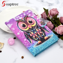 Universal Painting Tablet Case for 9.7 inch 10 inch 10.1 inch Protective Cartoon Tablet Flip Stand Magnetic PU Leather Cover