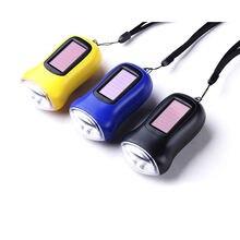 Портативный энергосберегающий мини фонарик с зарядкой от солнечной