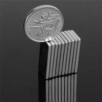 50 Pcs N50 Rare Earth Neodymium Magnets Stable Portable Strong Block Cuboid Fridge Magnet