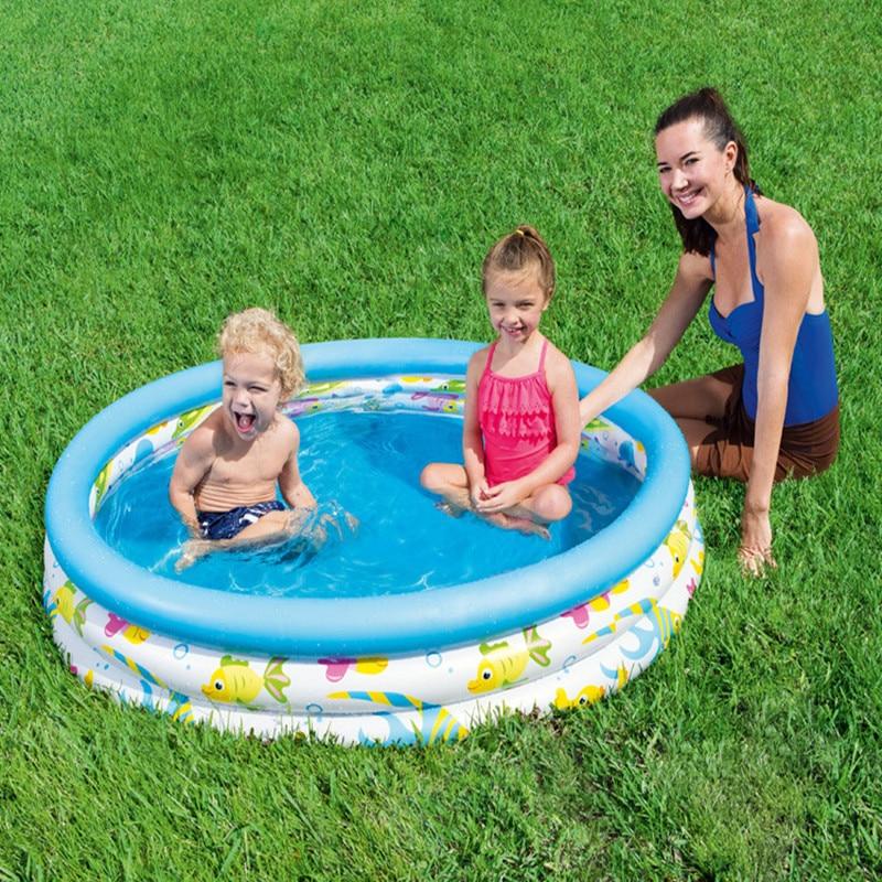 Bassin rond gonflable pour enfants | Ballon de bébé, jouets de Sport d'extérieur portables, piscine de jardin pagaie