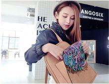 Женский рюкзак Шарм Искусственная кожа коричневый модные женские рюкзаки новый ручной рюкзак большой емкости сумка для путешествий и торговых