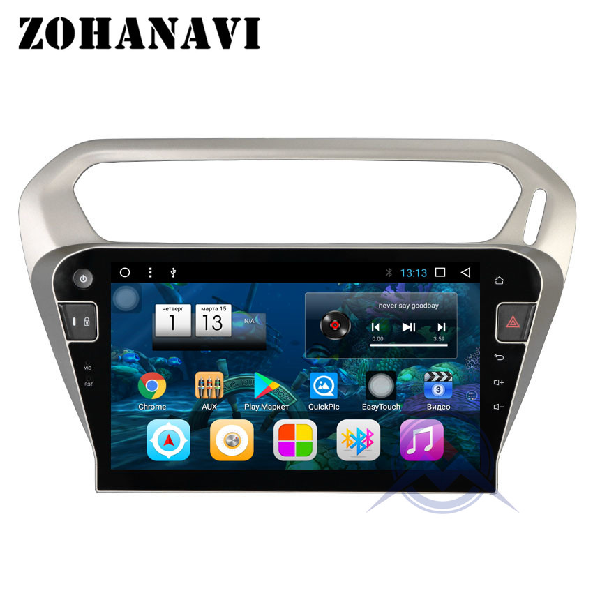 10 2 inch Android 8 1 Octa Core 8Core Car DVD Player for Citroen Elysee for