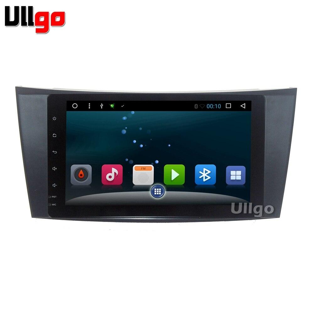 9 дюймов Android автомобилей Головное устройство для Mercedes Benz E G класса W209 W211 W219 W463 Авторадио gps стерео navi Бесплатная 8 ГБ USB Flash