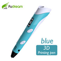 Promotion:3d Printing pen Printer Pen 3D V2 Generation 3D pen with LCD Screen Display