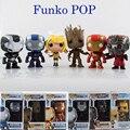 Maravilha Funko POP Patriot homem de ferro guardiões da galáxia Action Figure Groot Dragonball vinil Bobble Head Toy Collectible presente