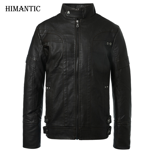 Aliexpress.com : Buy Motorcycle Leather Jackets Men Autumn Winter ...
