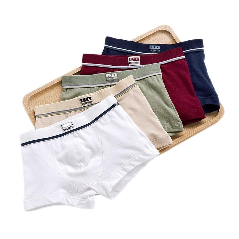 Children Underwear Boys Panties Cotton Boxer Children Briefs For Boy Shorts Baby Panties Kids Underwear 2-16 T / 5pcs 2