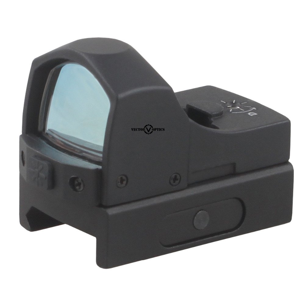 Vector Optics Sphinx 1x22 Mini Micro Reflex Green Dot Scope / Weapon Illuminated Dot Sight / Fit for 12ga 223 Real Fire Caliber sphinx