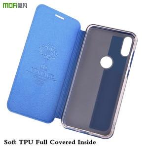 Image 4 - MOFi Flip Case for Xiaomi Mi Max 3 Cover for Xiomi Max3 Silicone TPU Housing PU Leather Folio Coque Book Capa Shell 3 Pro