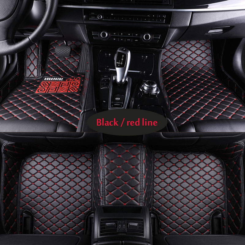 Car floor mats for MG 7 MG6 MG5 MG3 MG3SW MGZS MG GS MGGT fit SWM X3 SWM X7 PU leather Car carpet styling Left hand drive цена