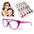 Moda Olho de Gato Óculos de Desgaste Sexy Moda Óculos de Armação Oculos de grau Óptico