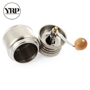 Image 5 - YRP paslanmaz çelik manuel kahve baharat öğütücü öğütme değirmeni el aracı ev değirmeni freze makinesi kahve aksesuarları
