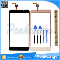 5 7 Inch Black Gold Touch Sensor For Leagoo M8 Pro Touch Screen With Digitizer Panel