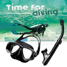 JOSHOCK Brand Professional Skuba Diving Mask Goggles Wide Vision Watersports Equipment With Anti-fog One-piece lens Underwater