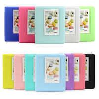 Candy Color 64 Pockets 3 Inch Photo Book Album Fujifilm Instax Mini Films Instant Mini 9 8 7s 70 25 90 Credit Name Card Holder