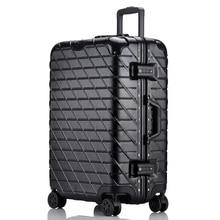 29 дюймов, вместительная сумка для багажа на колесиках, 20 дюймов, женская и мужская сумка на колесиках, чемодан с алюминиевой рамой, дорожная сумка