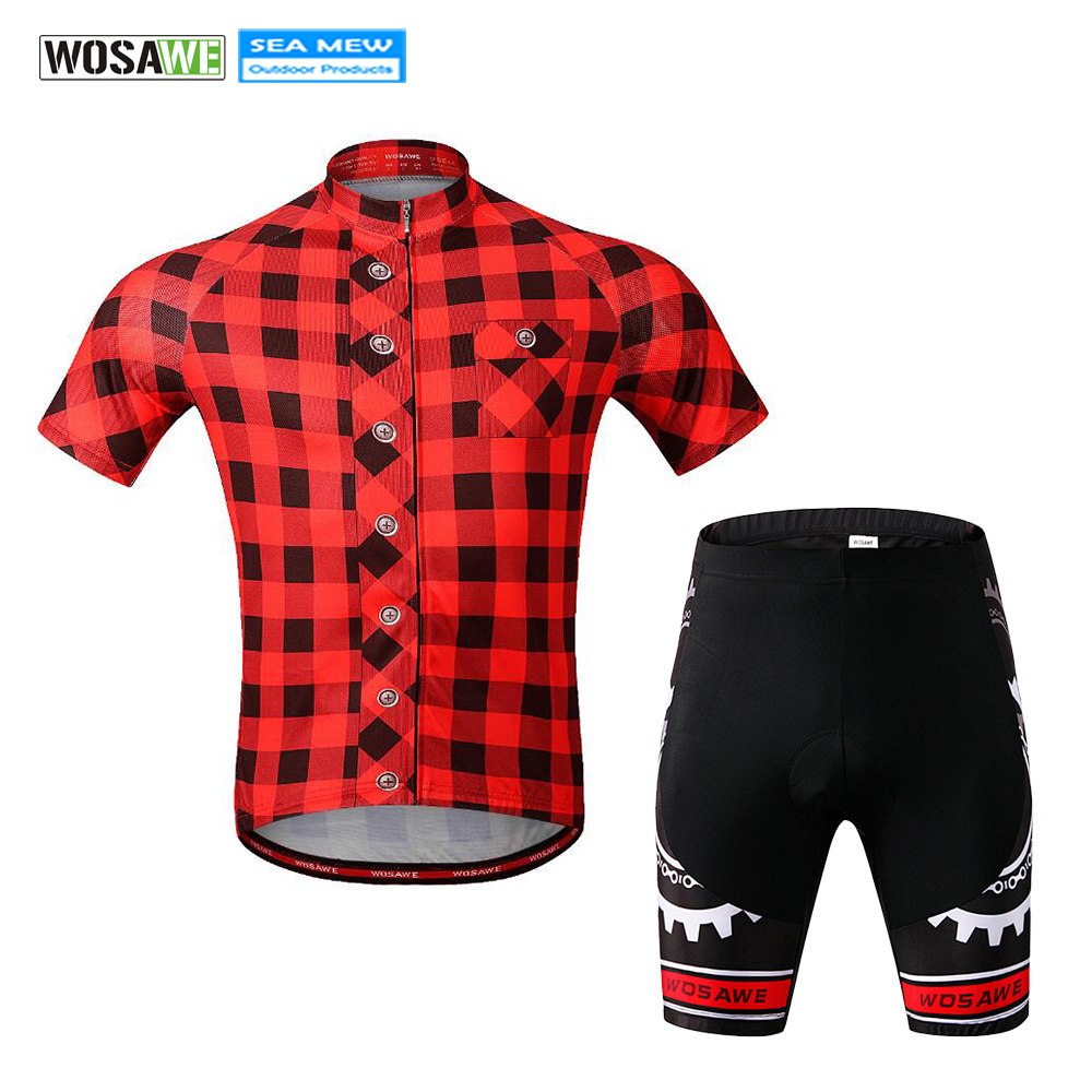 Cycling, WOSAWE, Wear, Breathable, Retro, Bike