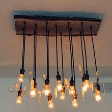 YNL Классическая винтажная Подвесная лампа с шнуром, Ретро Держатель для лампы, E27 220V 110 V, держатель для лампы, домашнее освещение