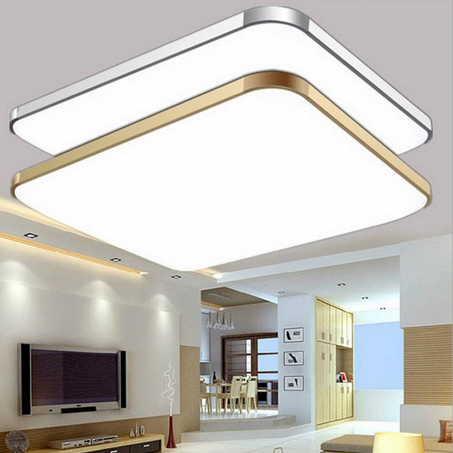 Modern Colourful RGB+Cold White+Warm White 2.4G RF Remote Control LED Ceiling Light Dimmable Smart Ceiling Lamp For Livingroom