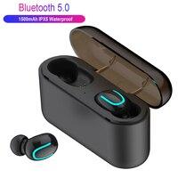 Гарнитура TWS туры беспроводной наушники HBQ Q32 Bluetooth 5,0 гарнитура с микрофоном Мини Bluetooth вкладыши беспроводные наушники