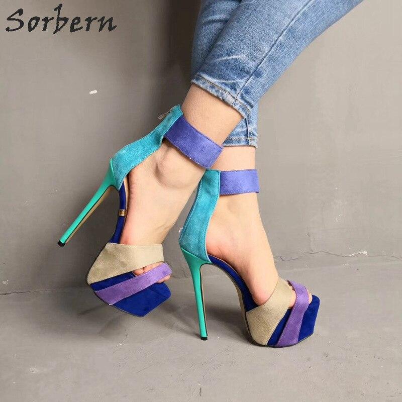 Heel Platform Sandals 2019 New Casual