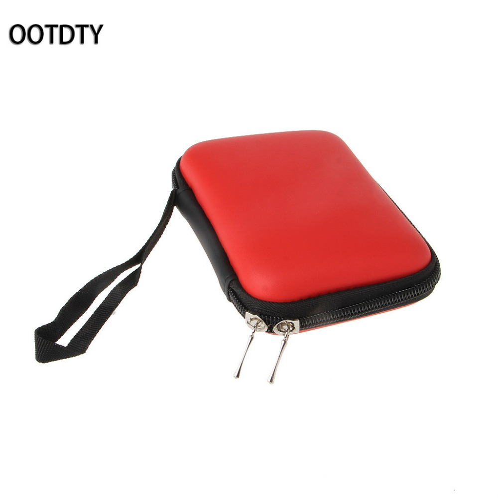OOTDTY Portable EVA Carry Case Protective Bag For 2.5 Inch External HDD Hard Disk Drive Power Bank