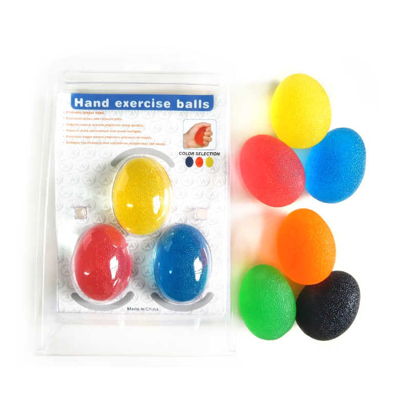 Silizium gummi finger ball assisted ausbildung gymnastic ball Hand grip von zerebralparese nach hub Fitness ausrüstung