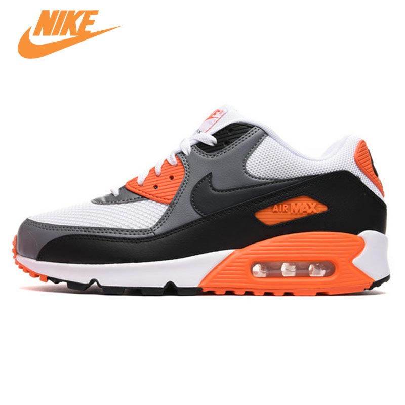 купить Original New Arrival Authentic NIKE Men's AIR MAX 90 ESSENTIAL Breathable Running Shoes Sneakers Trainers по цене 4902.92 рублей