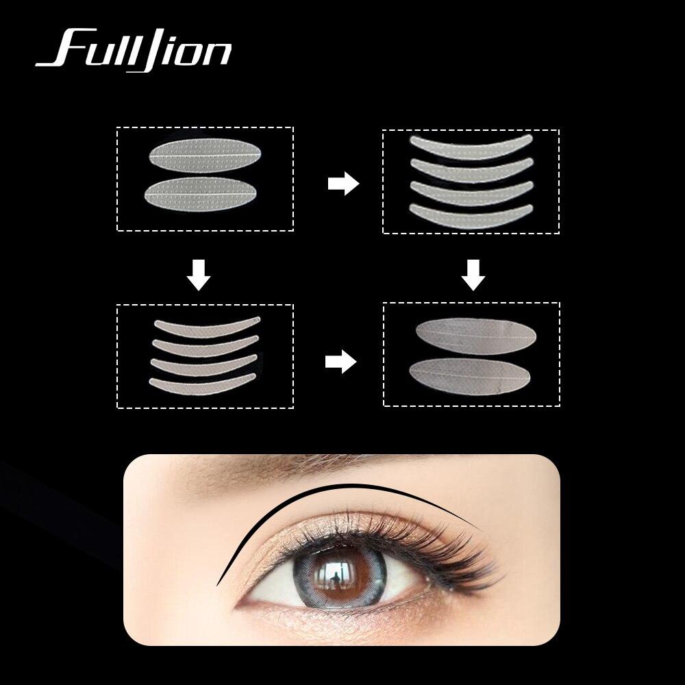 US $1 39 40% OFF|Fulljion 600Pcs Eyelid Tape Sticker Invisible Clear Beige  Double Eyelid Paste Instant Eye Lift Big Eyes Decoration Eyelid Stripe-in