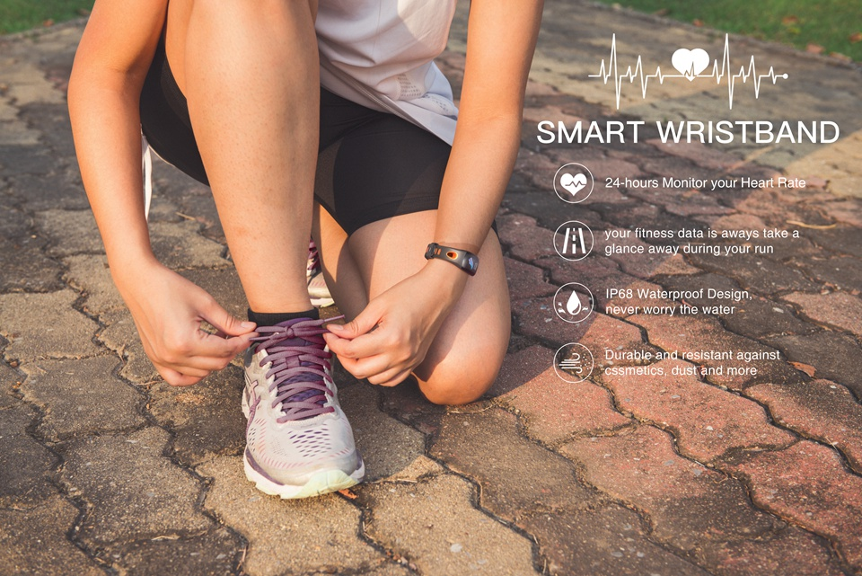 Fitness Bracelet with Activity Tracker 6