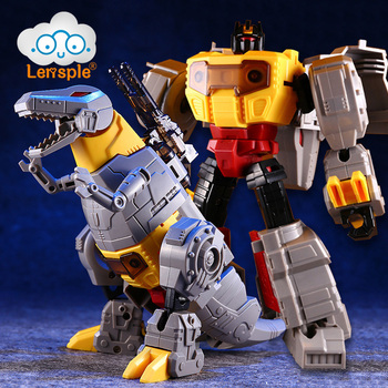 lensple transformation ko mp41 beast wars grimlock dinobot robots collection action figure Lensple Assembled Dinosaur Model Transformation Robot Deformation Toys Grimlock G1 Action Figure Best Birthday Gifts For Kids