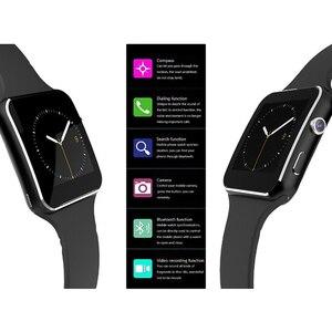 Image 5 - 2019 akıllı saat destek SIM TF kart h kamera Smartwatch Bluetooth arama/kamera dokunmatik ekran ile iPhone Xiaomi Android için IOS