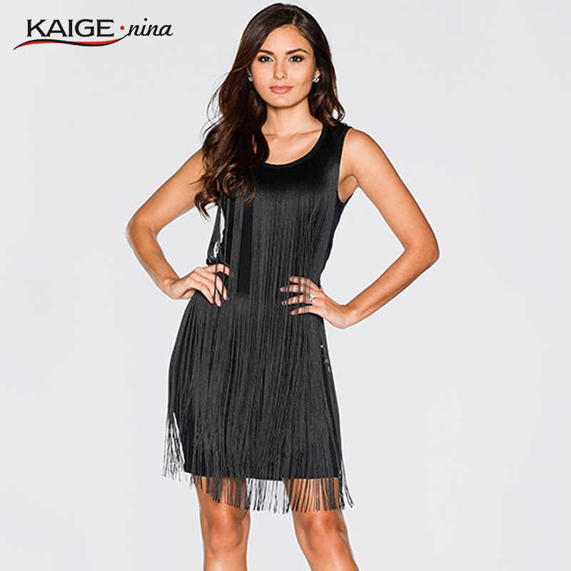 KaigeNina New Fashion Hot Sale Women Striped Patchwork Sheath o-Neck  Knee-Length Sleeveless 8e388c06b7b5