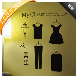 Women S Wardrobe Dress Clothing Store Window Post Shop Setting Wall Decorative Glass Post Free Shipping