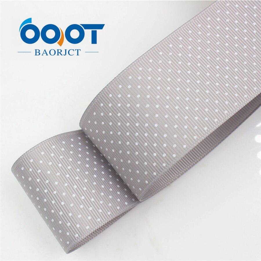 OOOT BAORICT 176222, белый горошек корсажная лента, 38 мм, 10 ярдов лента для шитья, DIY головной убор аксессуары ручной работы - Цвет: 0003
