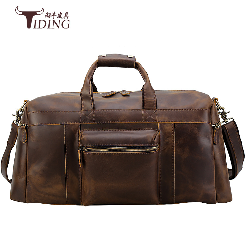 080818 newhotstacy men leather business bag man travelling bag male large capacity big tote bag