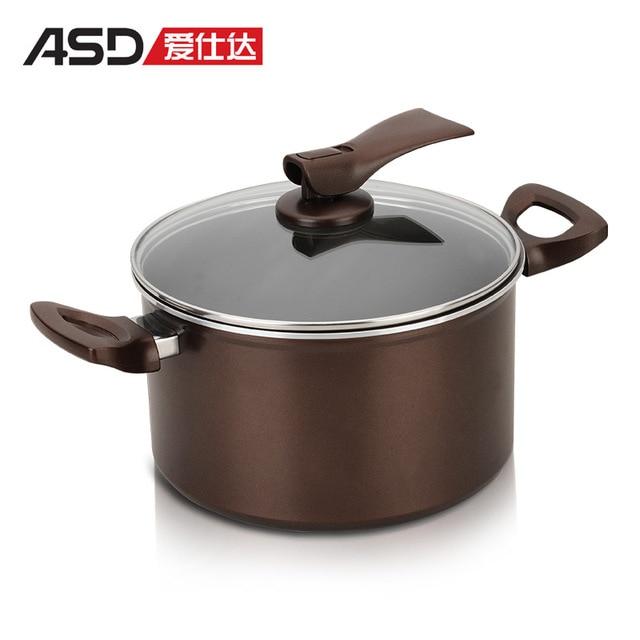 Asd 22cm milk soup pot buzhanguo pursing electromagnetic furnace general pot ls8722