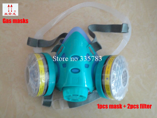 High quality Gas masks paint anti - dust protective masks anti - smoke anti - formaldehyde silicone masks цена