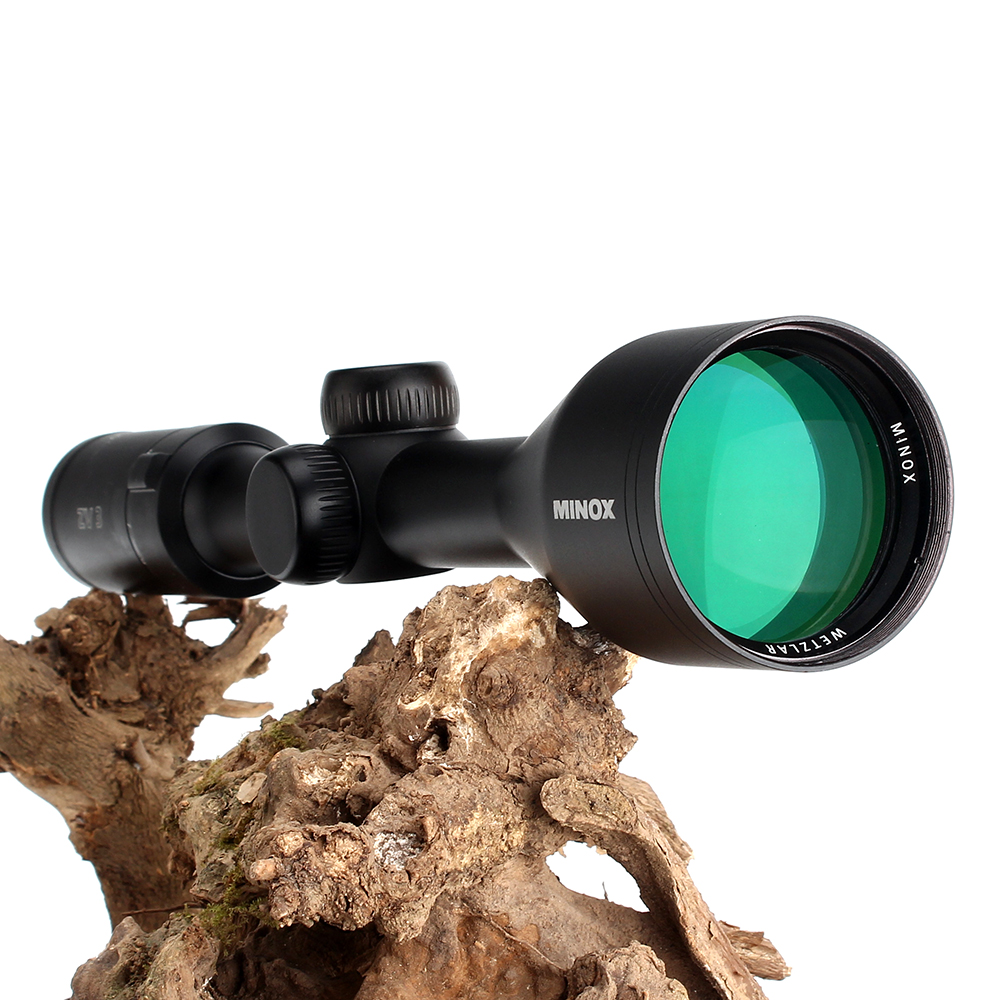 MINOX ZV 3 3-9X50 Hunting Riflescope BDC 400 Wire Reticle 1 Inch Tube Optical Sights Long Eye Relief for Tactical Rifle Scope  (11)