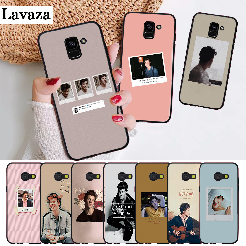 Lavaza Shawn Mendes Novelty Fundas Silicone Case For Samsung A3 A5 2016 2017 A6 Plus 2018 A7 A8 A9 A10 A30 A40 A50 A70 J6 Lustrous Surface Phone Bags & Cases Cellphones & Telecommunications