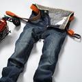 Envío Gratis nuevo diseñador jeans hombres jeans marca de fábrica famosa de Negocios pantalones pantalones skinny jeans hombres bajo precio de Fábrica del verano 28-38