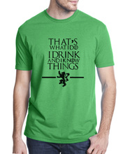 I Drink and I Know Things T-Shirt for Men